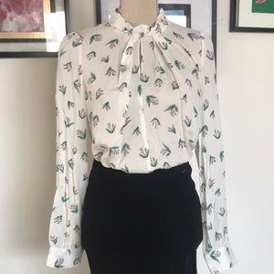 Louche size M long sleeved top